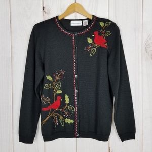 Alfred Dunner | Ugly Christmas Sweater Cardinals